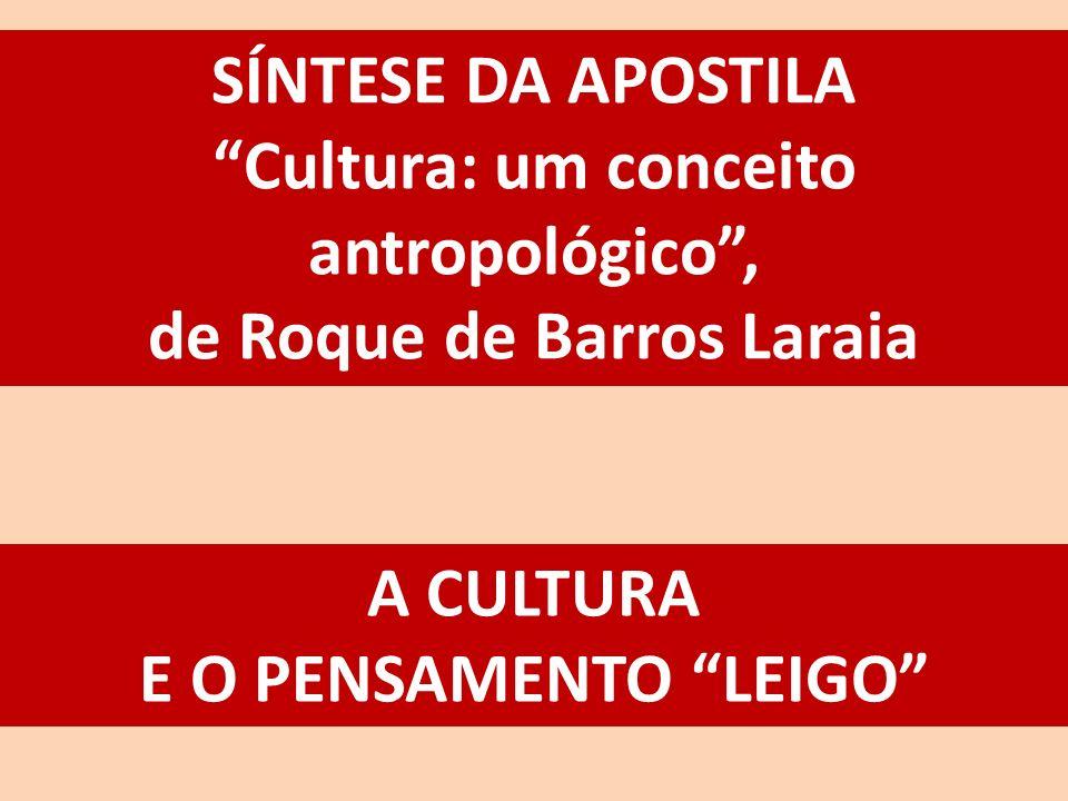 Cultura: um conceito antropológico , de Roque de Barros Laraia