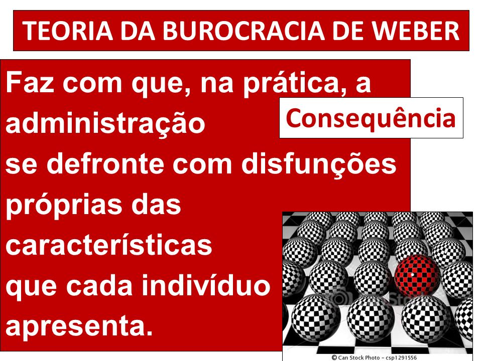 TEORIA DA BUROCRACIA DE WEBER