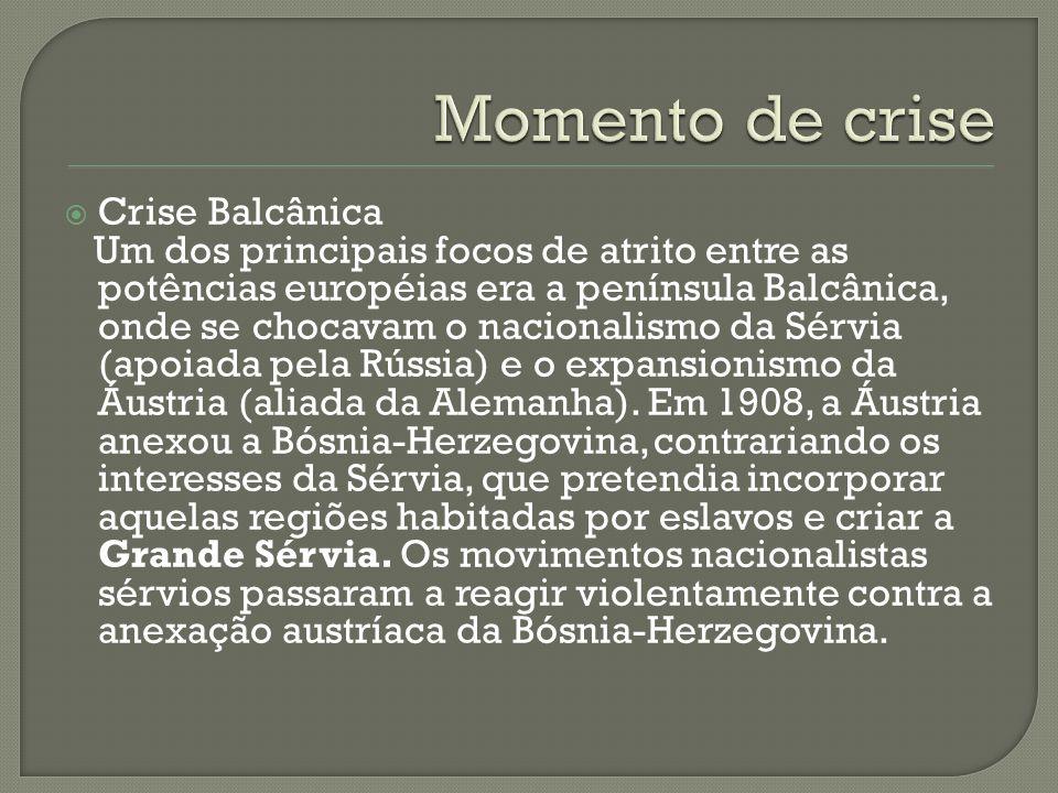 Momento de crise Crise Balcânica