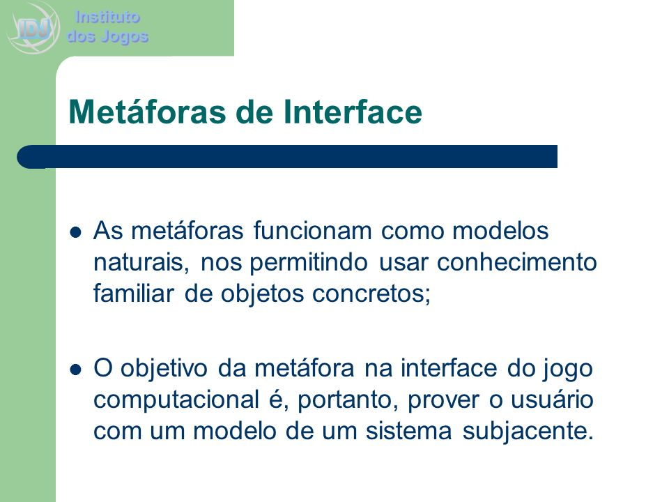 Metáforas de Interface