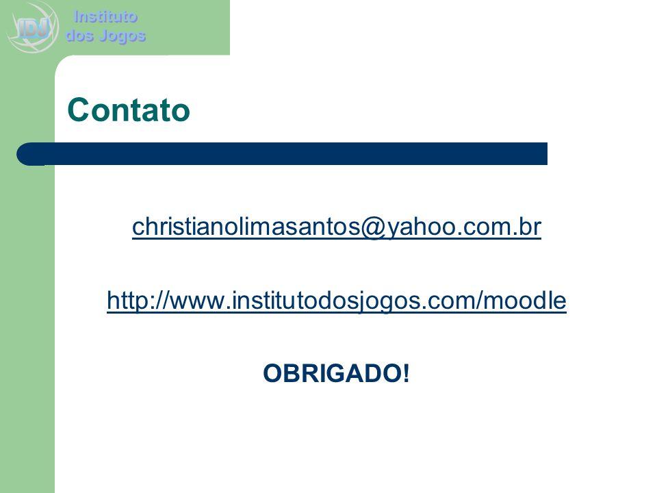 Contato christianolimasantos@yahoo.com.br