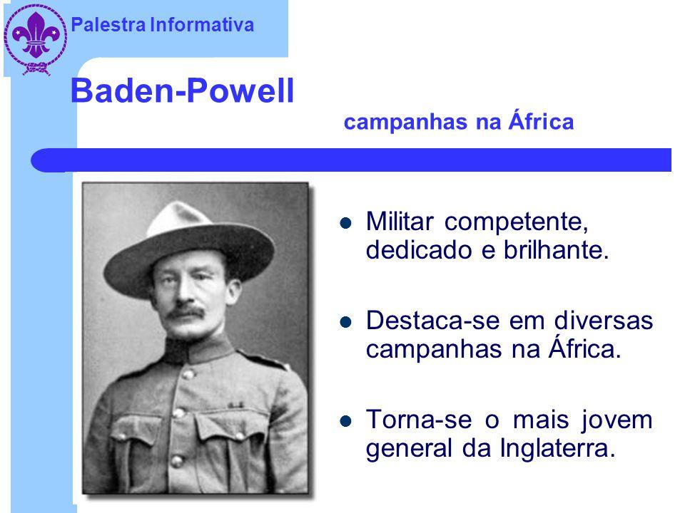 Baden-Powell campanhas na África