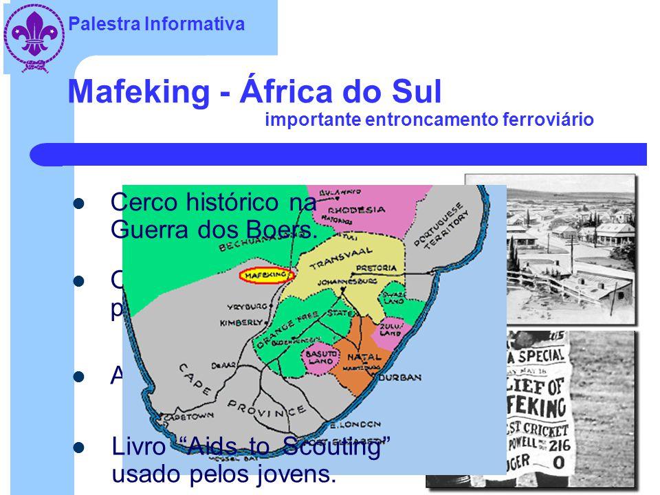 Mafeking - África do Sul importante entroncamento ferroviário