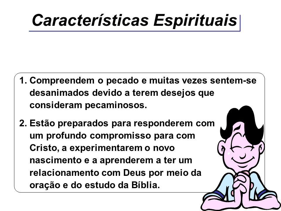 Características Espirituais