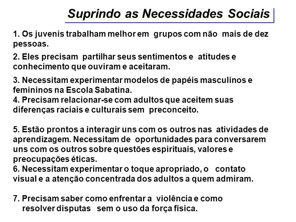 Suprindo as Necessidades Sociais