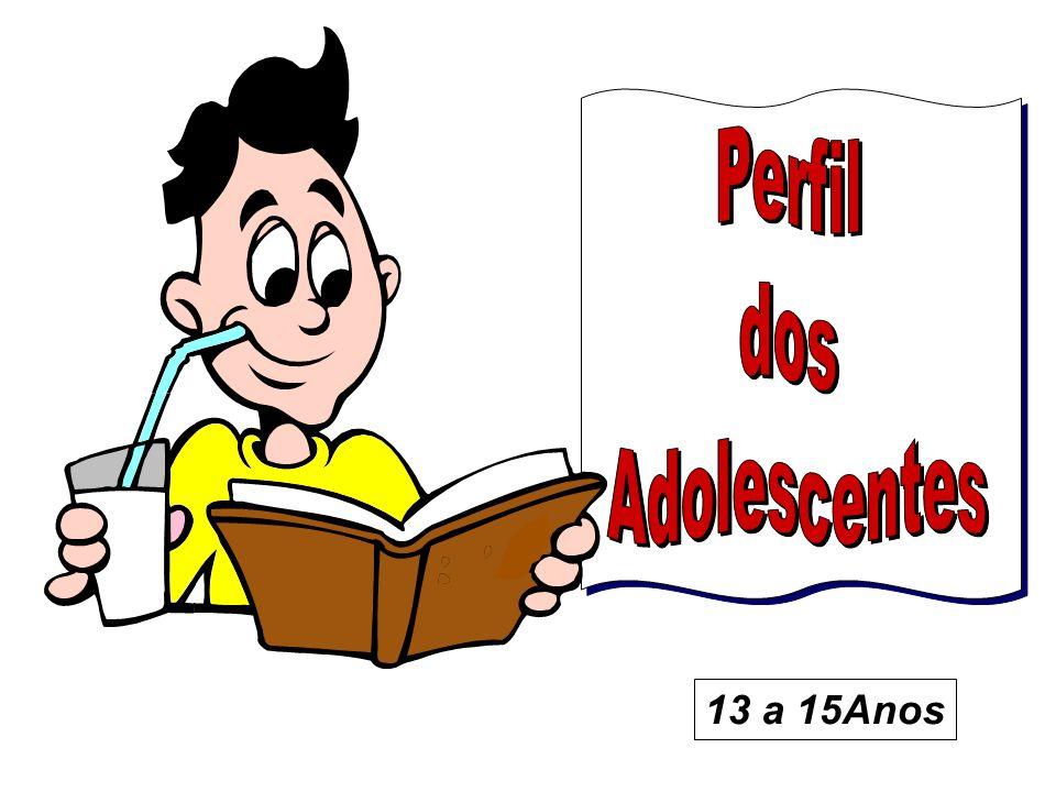 Perfil dos Adolescentes 13 a 15Anos