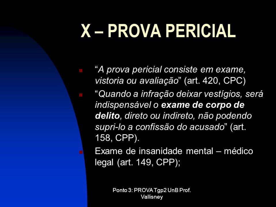 Ponto 3: PROVA Tgp2 UnB Prof. Vallisney