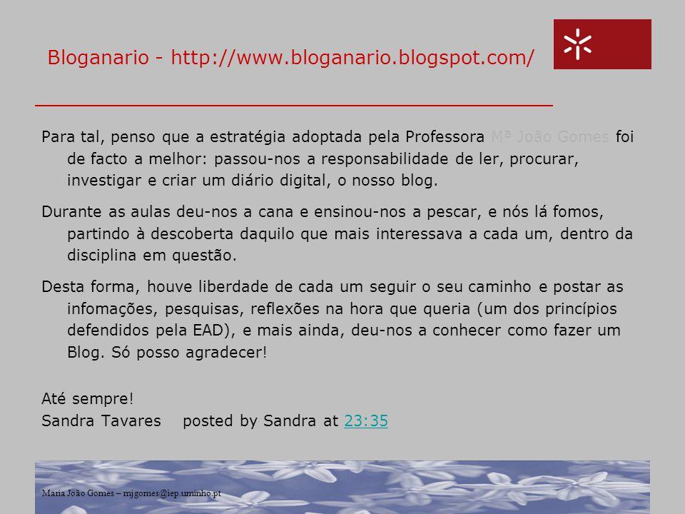 Bloganario - http://www.bloganario.blogspot.com/