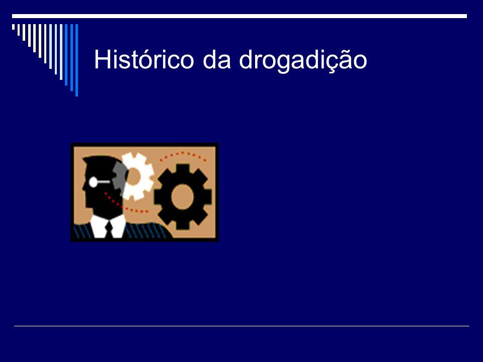 Histórico da drogadição