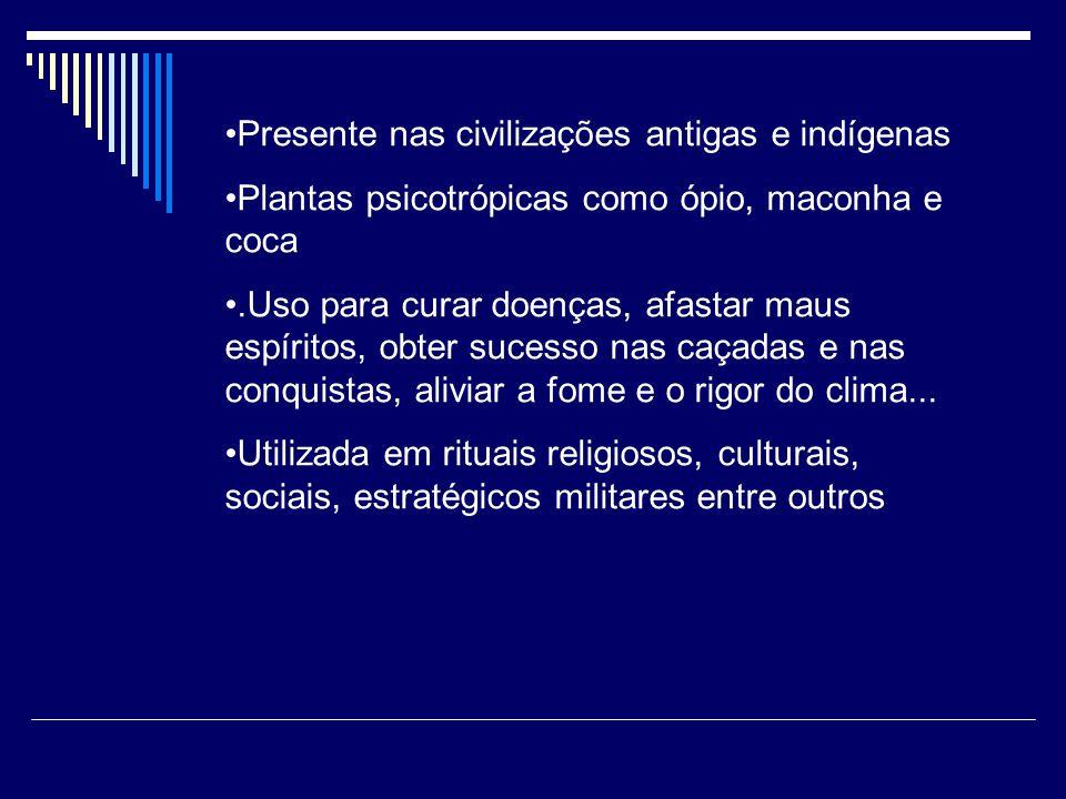Presente nas civilizações antigas e indígenas