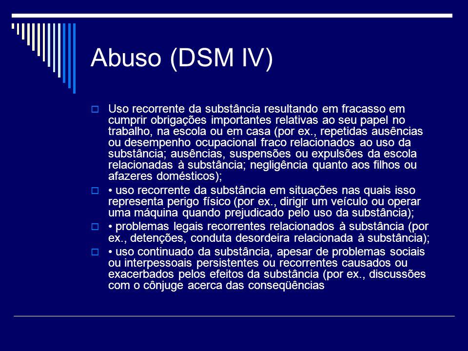 Abuso (DSM IV)