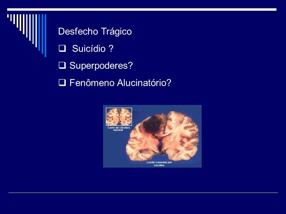 Desfecho Trágico Suicídio Superpoderes Fenômeno Alucinatório