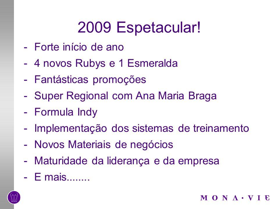 2009 Espetacular! Forte início de ano 4 novos Rubys e 1 Esmeralda
