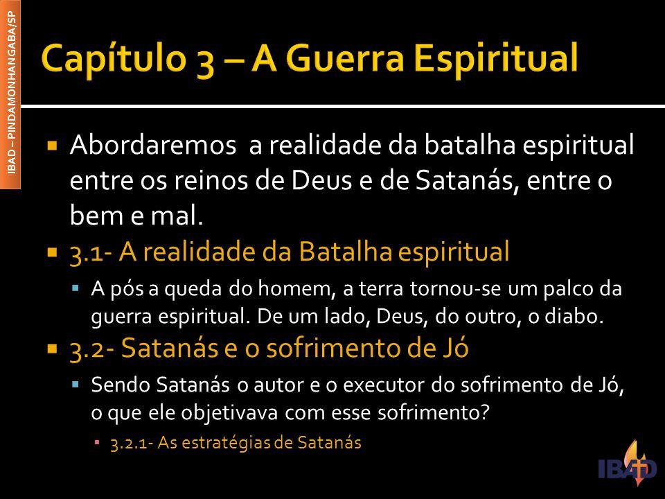 Capítulo 3 – A Guerra Espiritual