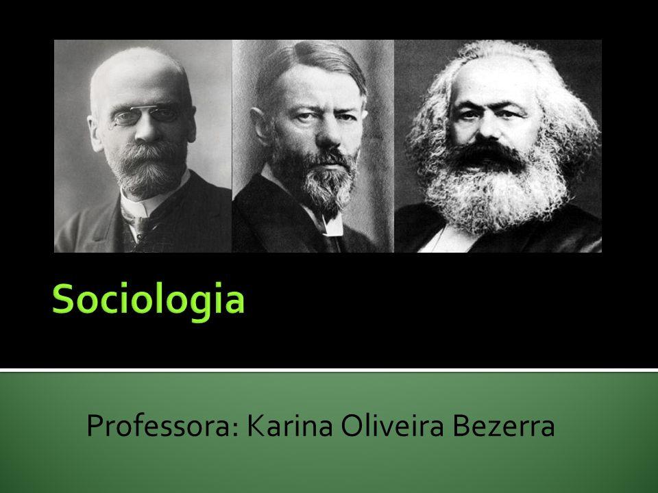 Professora: Karina Oliveira Bezerra