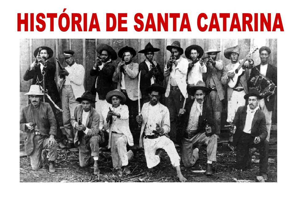 HISTÓRIA DE SANTA CATARINA