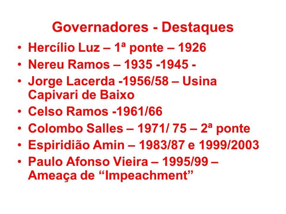 Governadores - Destaques