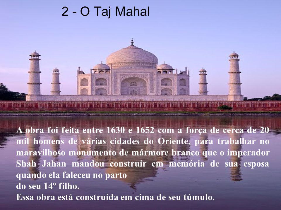 2 - O Taj Mahal