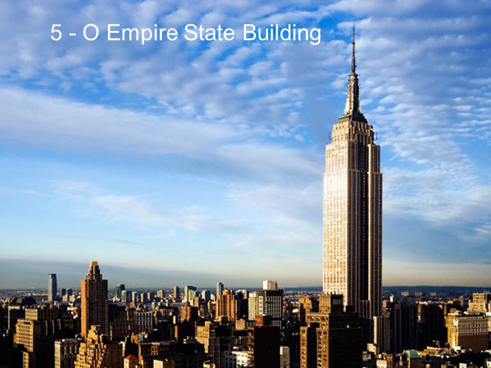 5 - O Empire State Building