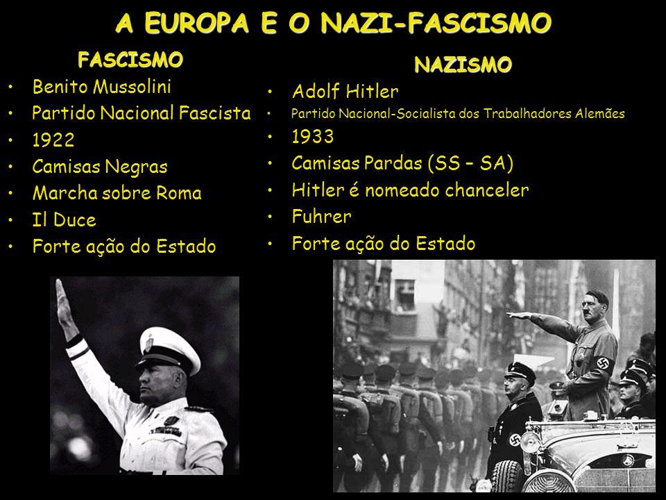 A EUROPA E O NAZI-FASCISMO