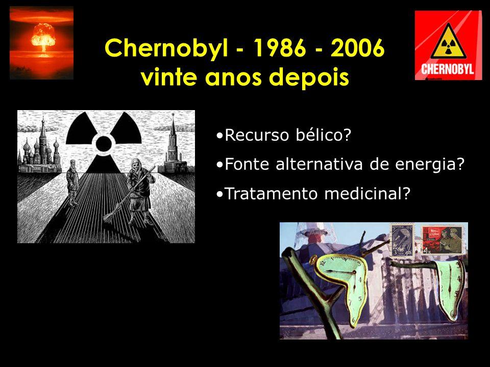 Chernobyl - 1986 - 2006 vinte anos depois