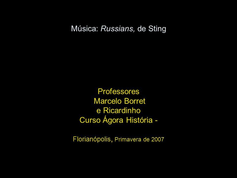 Música: Russians, de Sting