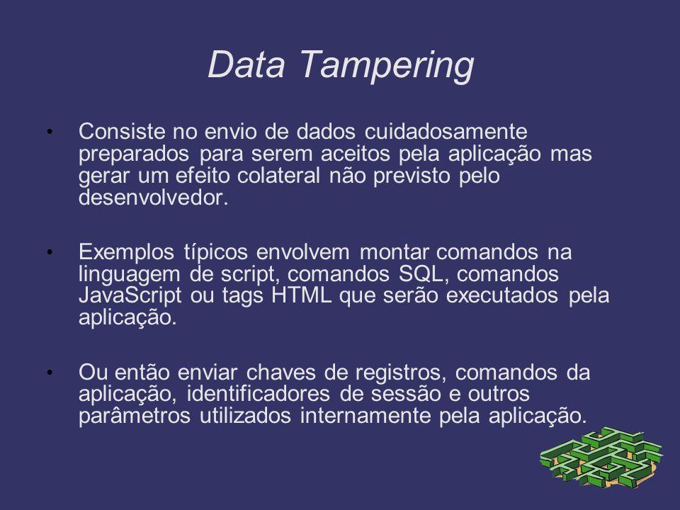 Data Tampering