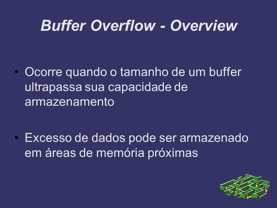 Buffer Overflow - Overview