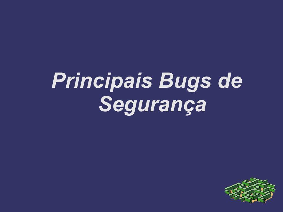 Principais Bugs de Segurança