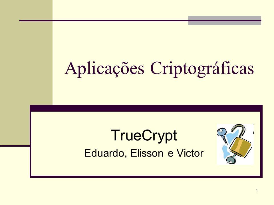 Aplicações Criptográficas