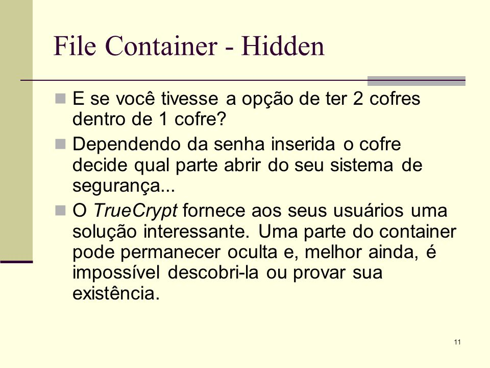 File Container - Hidden