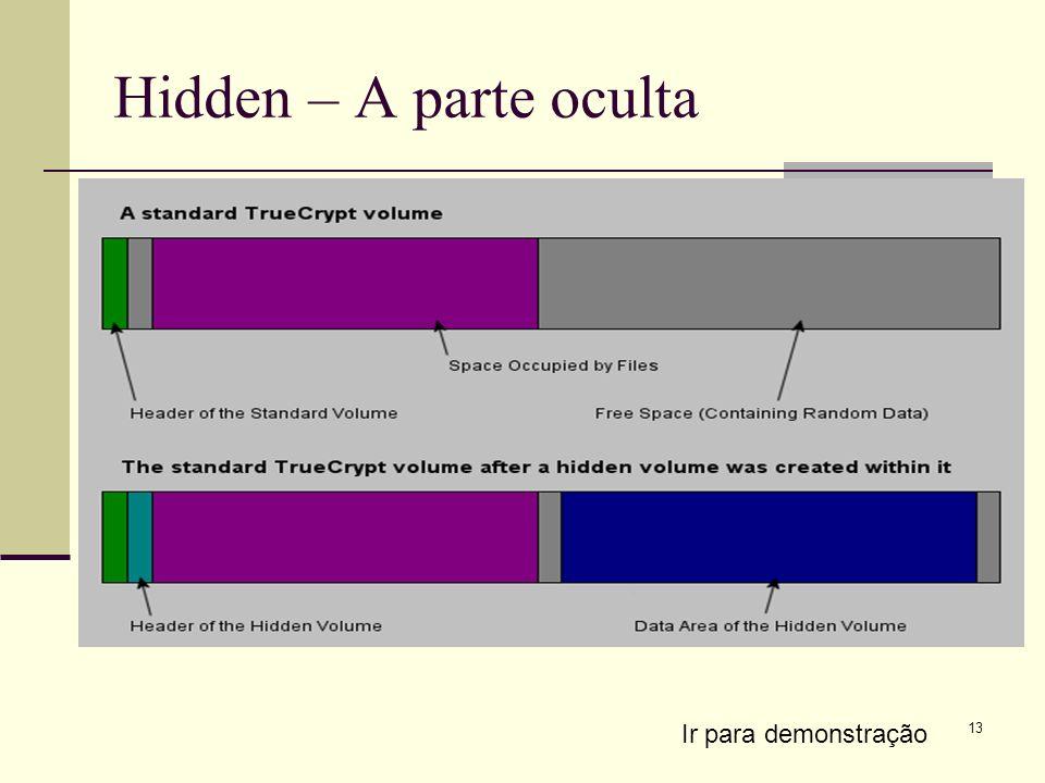 Hidden – A parte oculta Ir para demonstração
