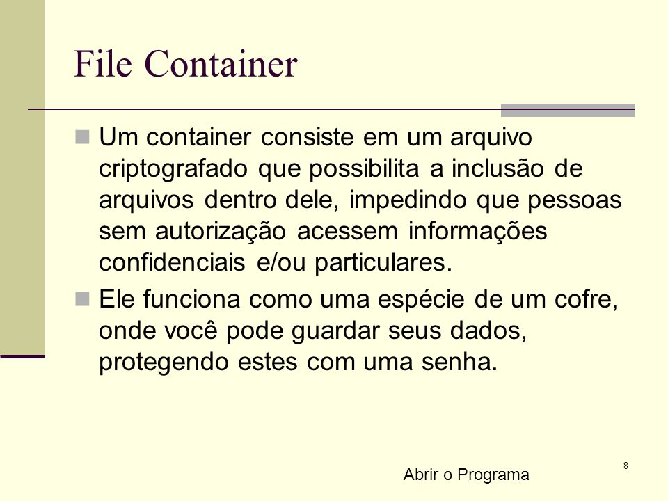 File Container