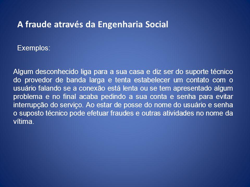 A fraude através da Engenharia Social
