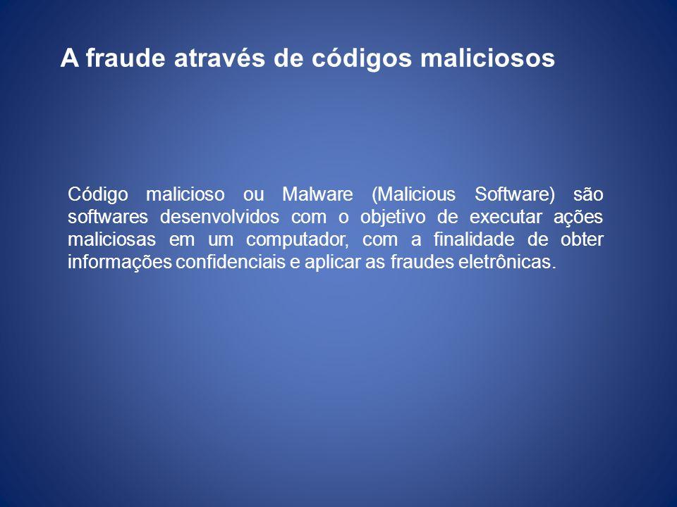 A fraude através de códigos maliciosos