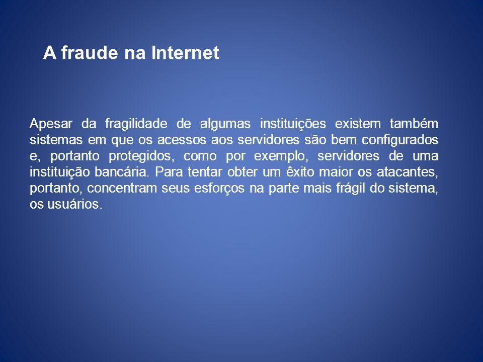 A fraude na Internet