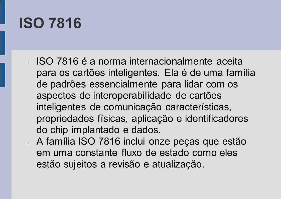 ISO 7816