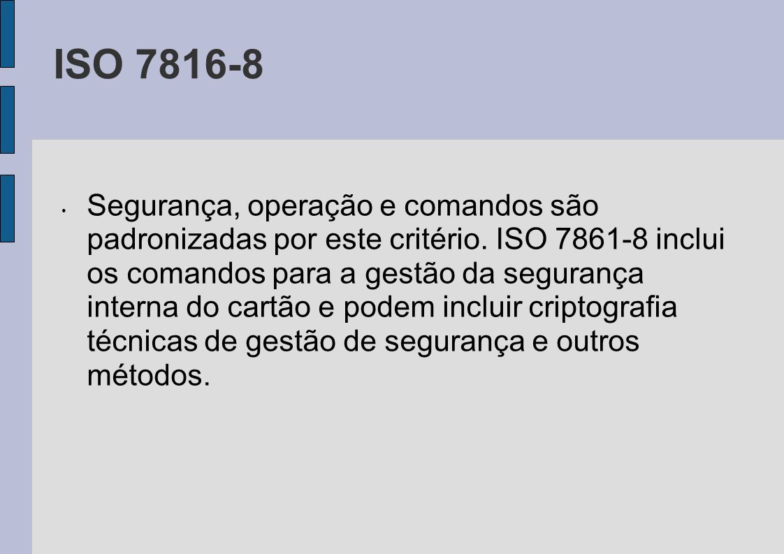ISO 7816-8
