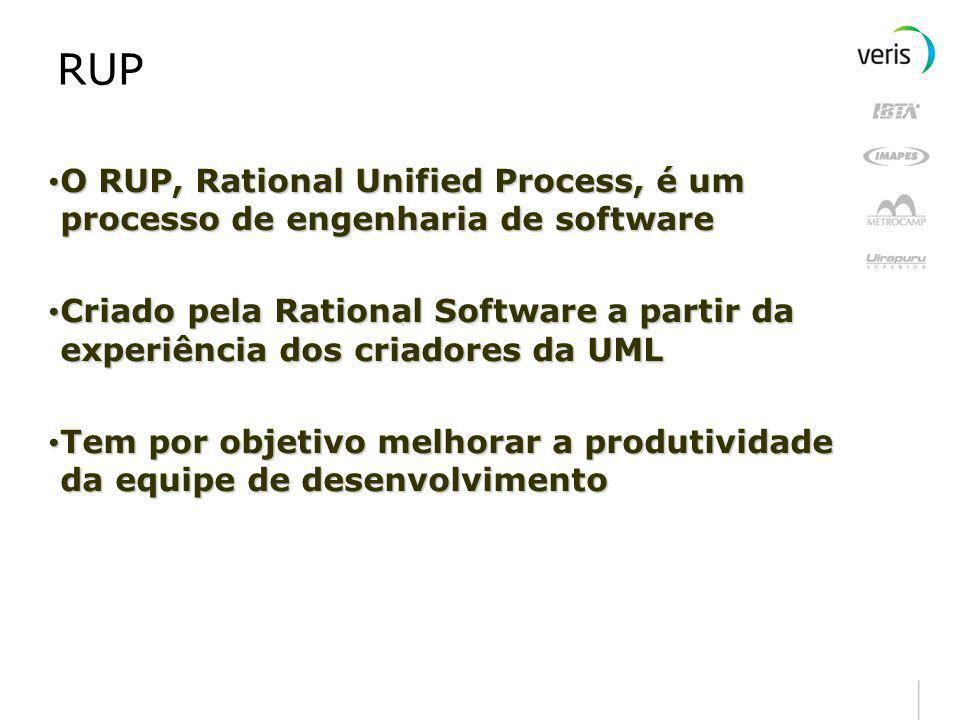RUP O RUP, Rational Unified Process, é um processo de engenharia de software.
