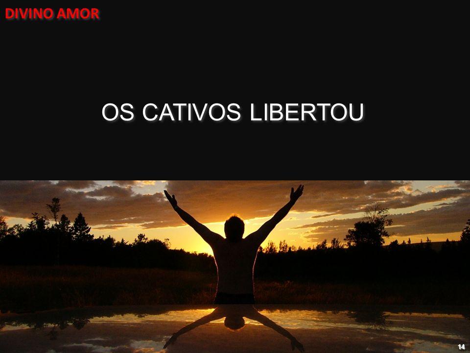 DIVINO AMOR OS CATIVOS LIBERTOU 14