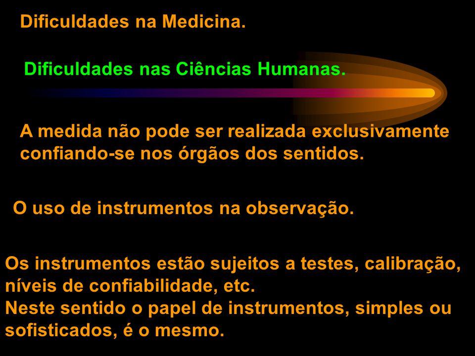 Dificuldades na Medicina.