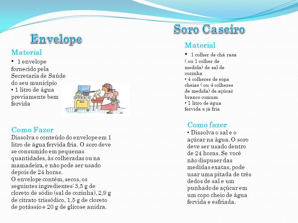 Soro Caseiro Envelope Material