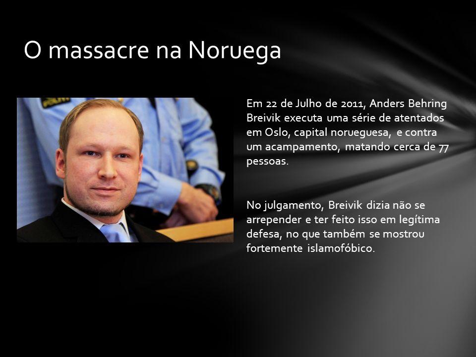 O massacre na Noruega