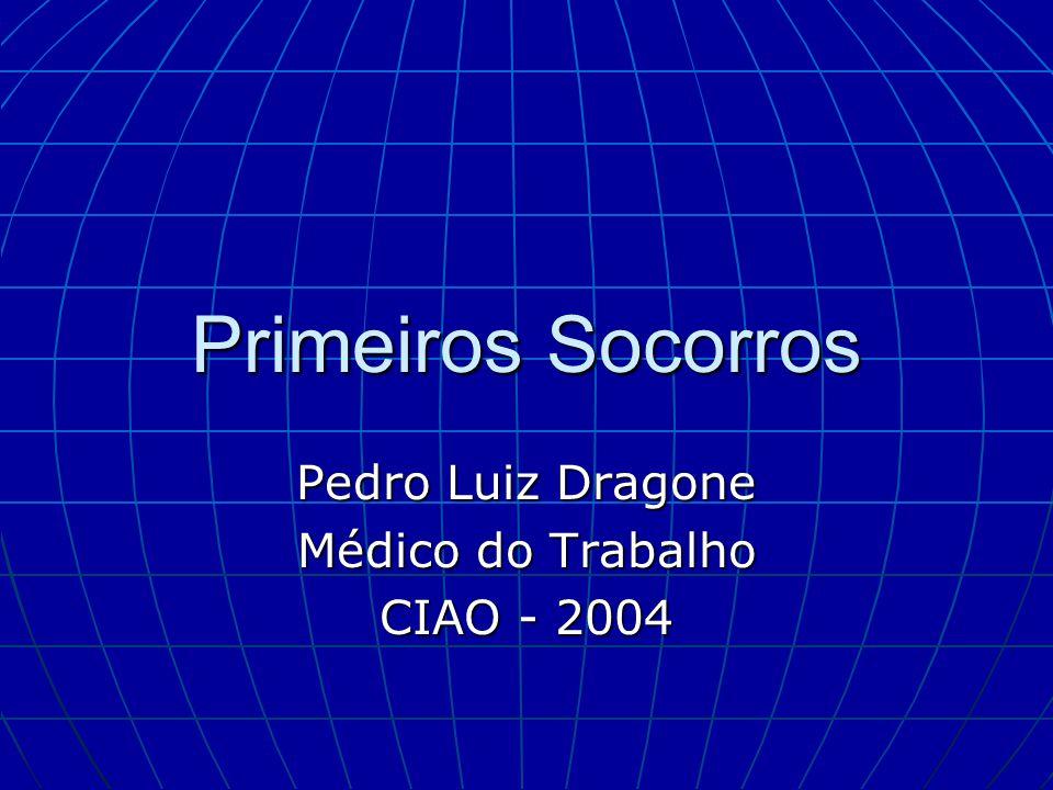 Pedro Luiz Dragone Médico do Trabalho CIAO - 2004
