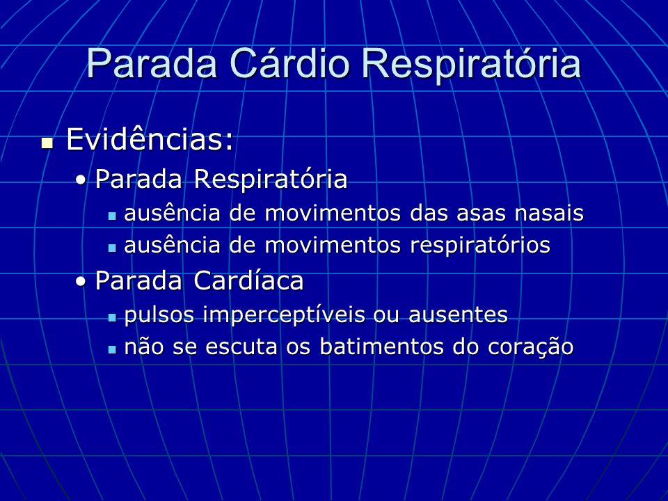 Parada Cárdio Respiratória