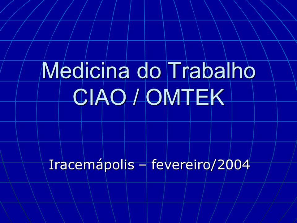 Medicina do Trabalho CIAO / OMTEK