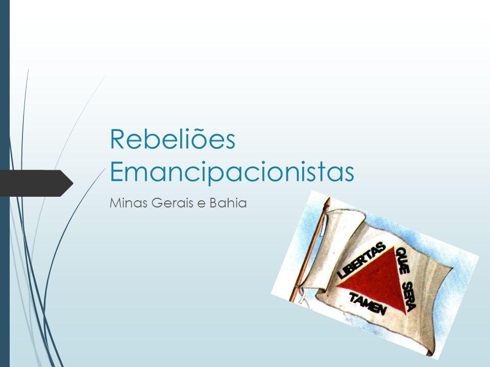 Rebeliões Emancipacionistas