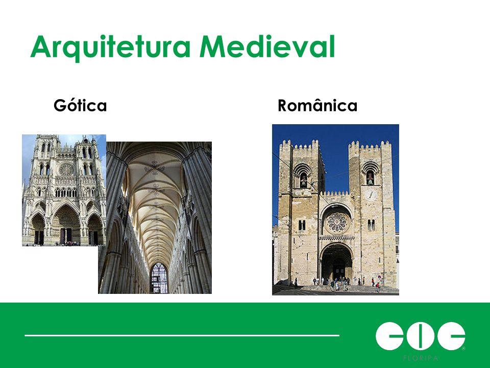 Arquitetura Medieval Gótica Românica