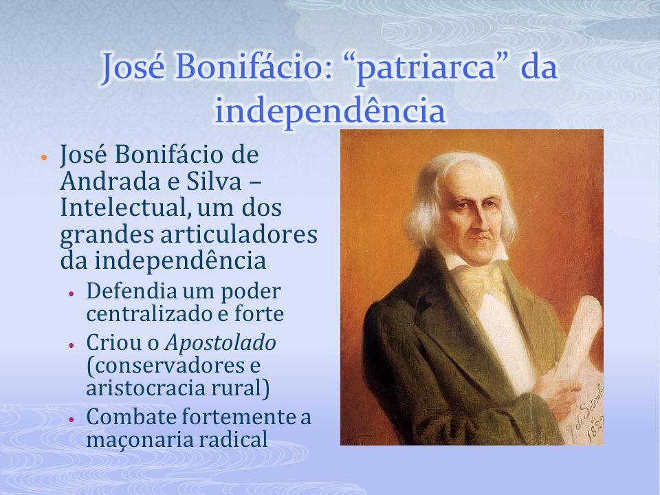 José Bonifácio: patriarca da independência