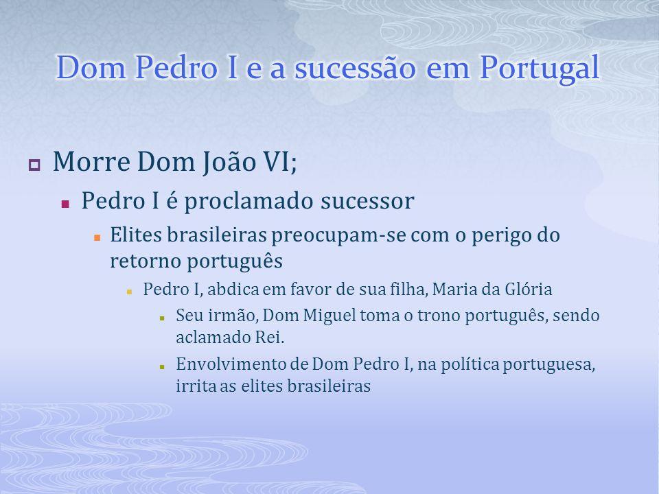 Dom Pedro I e a sucessão em Portugal
